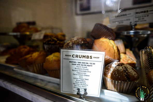 Les mufins de chez Crumbs Bake Shop