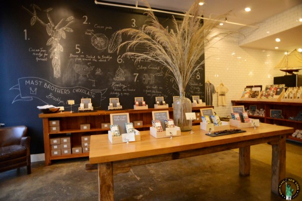 Magasin des Mast Brothers - Brookyn (NYC)