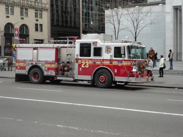 Voici une petite photo prise le 24/12/2012 sur la 42 street- Laurence
