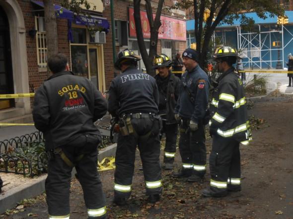 Photo prise le lendemain du passage de l'ouragan SANDY en novembre 2012. New York est une ville extraordinaire, je n'ai qu'une hâte, c'est d'y retourner. JL