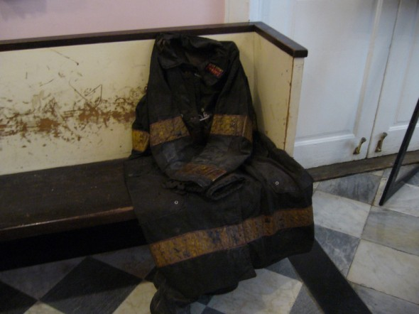 Photo prise dans la chapelle pas loin du world trade center en juin 2012 par Catherine C.