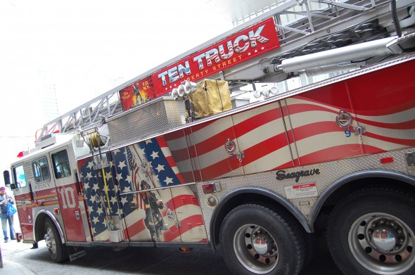 Un camion de pompier pris le 14 mars 2013. - Virginie D.