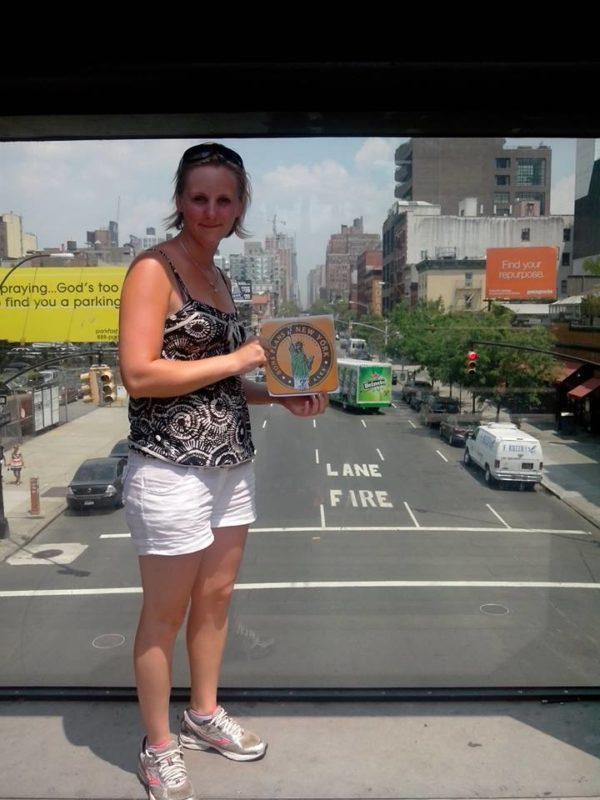 Dédicace de Solène sur la High Line - Juillet 2013