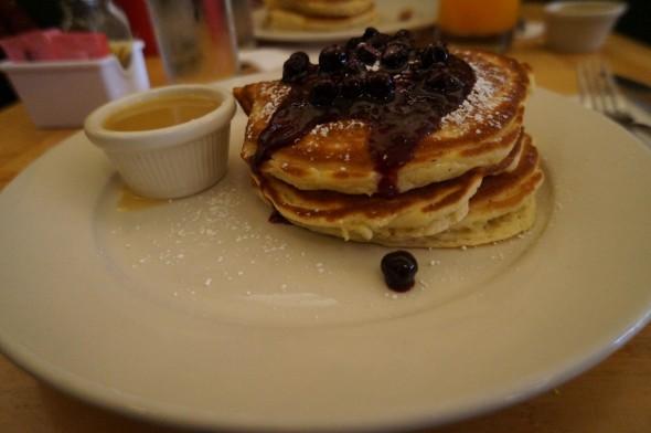 Pancakes au blueberry Clinton Street Baking Company & Restaurant