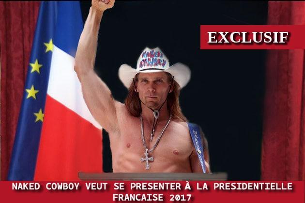 Naked Cowboy présidentielle française