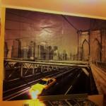 Wallpaper Brooklyn Bridge in my room - Smain