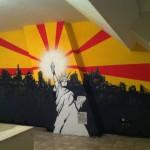 Le mur de l'appart' de Christopher Maenhoudt