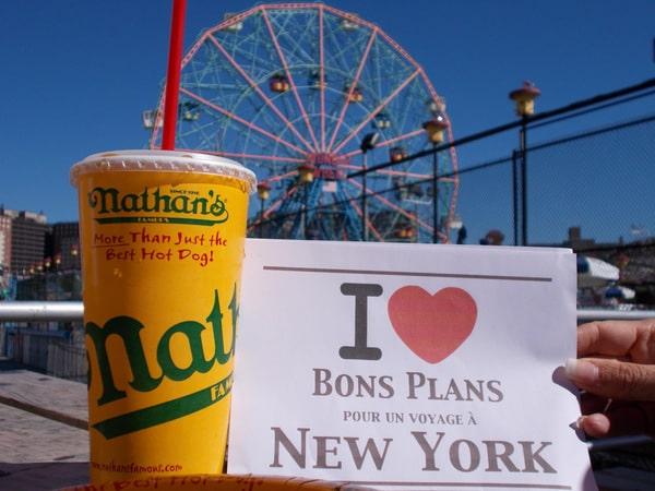 Délphine & Martial : Coney Island, ses manèges, et son hot dog... que Delphine avait déjà mangé !!!  - Septembre 2013