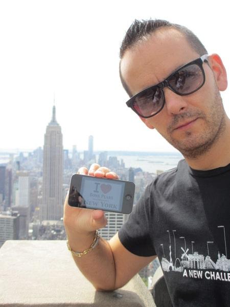 Julien au Top of the Rock - Septembre 2013