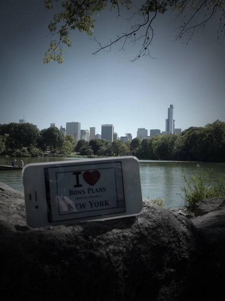 Marica & Mélanie pour une dédicace à Central Park - Septembre 2013