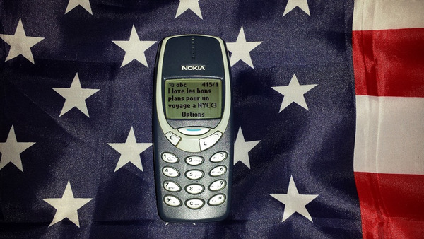 """La dédicace """"I Love BPVNY"""" avec un Nokia du début des années 2000 !!! Merci Smain - Septembre 2013"""