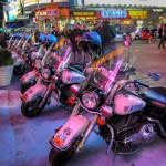 Les Motos et les casques des NYPD - Laurent ( septembre 2010)