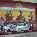 Fresque Harlem Police NYPD - Delphine