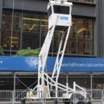 Petite maisonnette en hauteur du NYPD - Pascal (Août 2012)