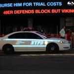 une voiture NYPD prise le 30 Aout à Times Square - Cécile