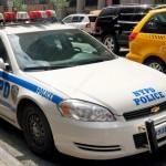 Voiture NYPD vue par Pocahantas