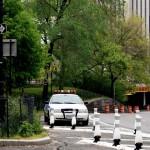 Voiture NYPD à Central Park vue par Pocahantas