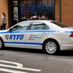 Une voiture NYPD - Pocahontas