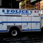 Un camion NYPD - Pocahontas