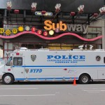 NYPD Police sur Times Square - Sylvie (Avril 2013)