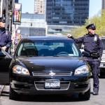 NYPD en voiture banalisée