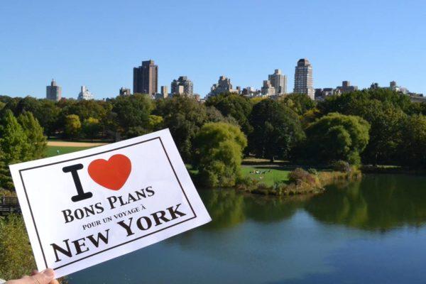 Dédicace de Cyrielle à Central Park - Octobre 2013