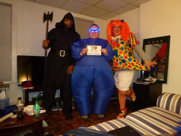 Loic & Co pour Halloween à New York !!! J'adore !!! - 31 Octobre 2013