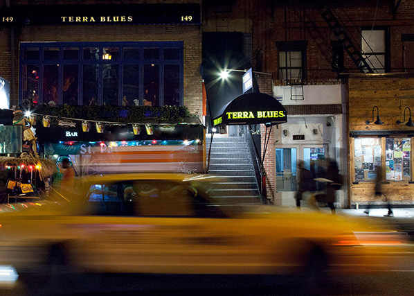 Terra Blues Jazz Club nyc