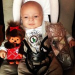 Golden Blog Awards 2013 - Mon petit Marius avec les lots que j'ai gagné !!!