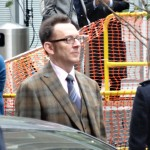 Photo de Michael Emerson prise en octobre 2013, en plein tournage de la série Person of Interest! - Ludivine
