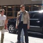 Angélique a croisé Ben Stiller en plein tournage dans New York en Mai 2012