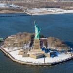 Statue de la Liberté - Tour d'hélicoptère à New York - Décembre 2009 (Alex les bons plans)