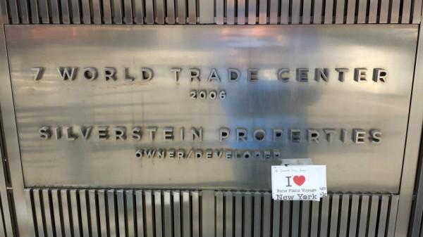 Dédicace de Smain au World Trade Center - Janvier 2014