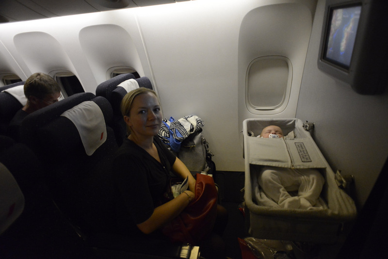 bébé avion oreille