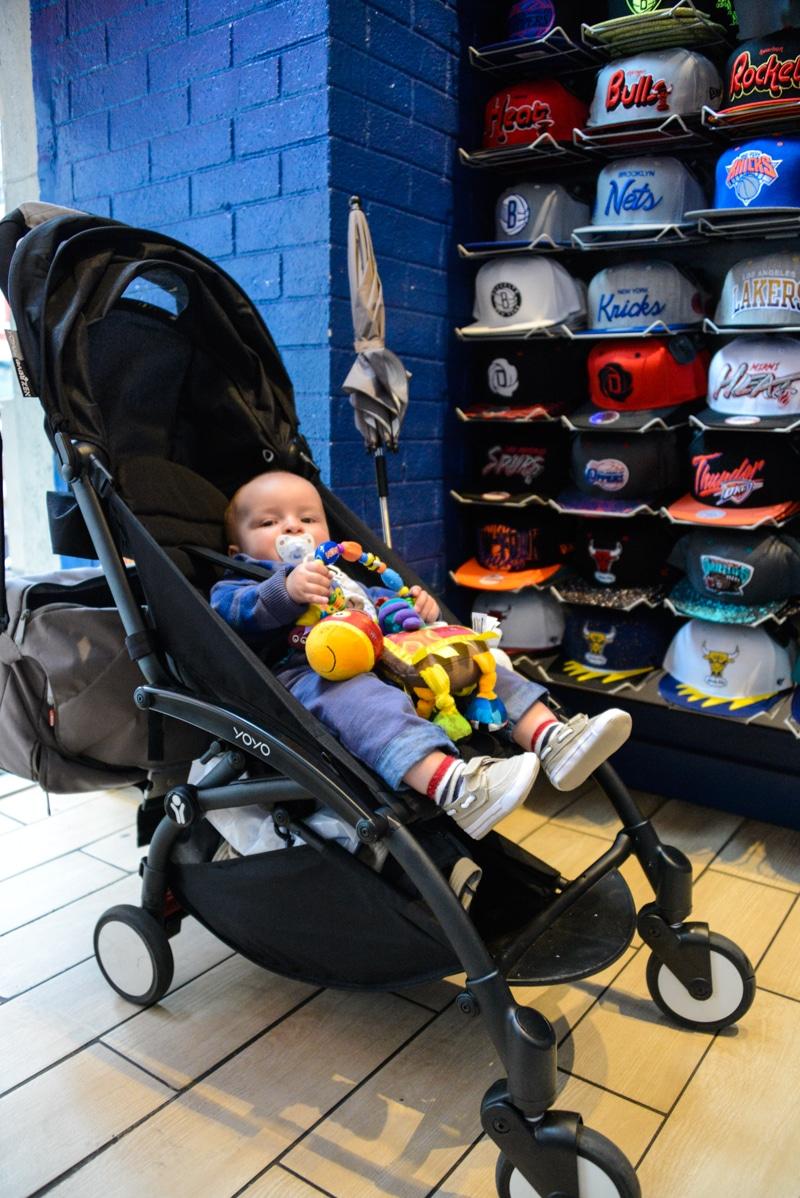 Partir en voyage à New York avec un bébé