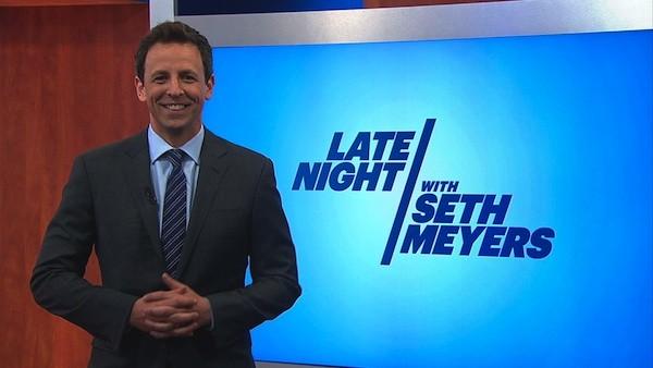 Seth Meyers Late Night