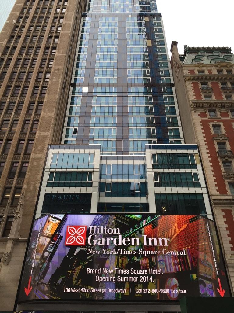 L 39 H Tel Le Hilton Garden Inn Times Square Central