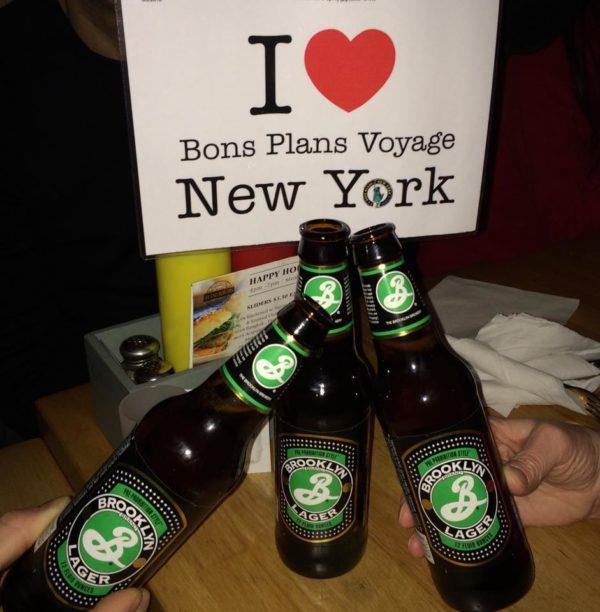 Dédicace de Caroline et sa bande avec quelques Brooklyn Brewery en ce moment à New York !!!