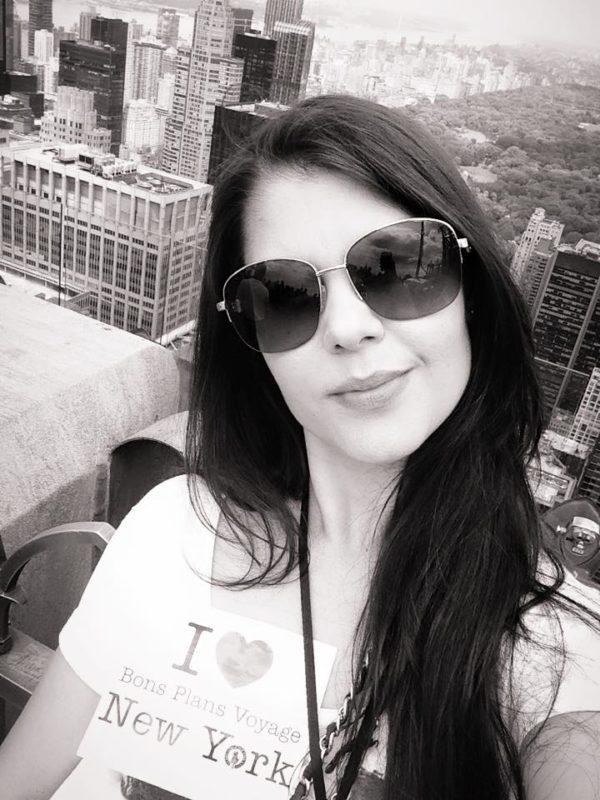 Dédicace de Frambuesa au Top of th Rock - Mai 2015