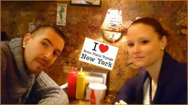 Will & Jenn pour une dédicace au Burger Joint la semaine dernière