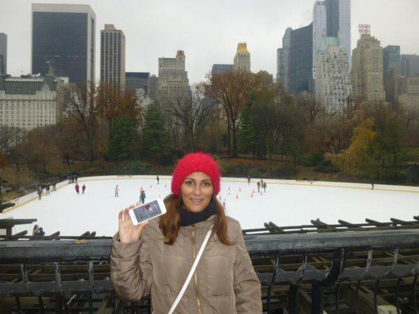 Dédicace BPVNY a la patinoire de central park le mercredi 3 décembre