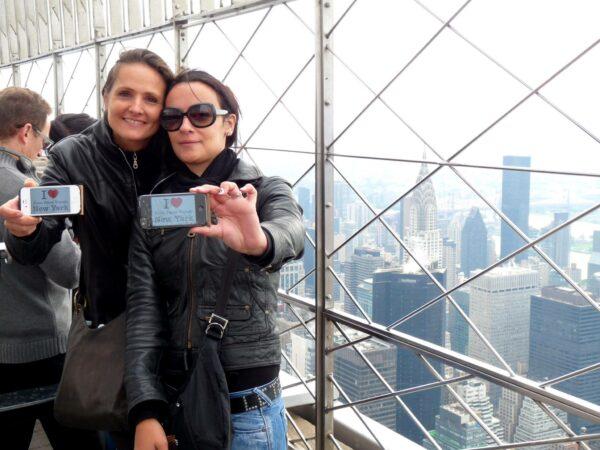 Un grand merci à Laetitia et Karine pour cette jolie dédicace à l'Empire State Building cette semaine !