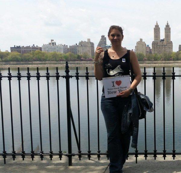 Dédicace de Lô à Central Park - Avril 2015