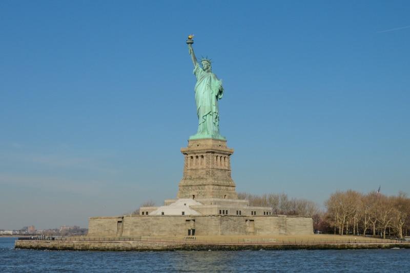 Visitez la statue de la liberté et ellis island