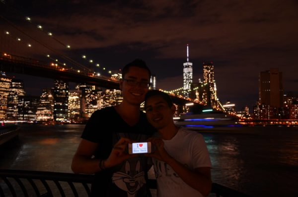 Dédicace by Night de Brooklyn Bridge Park !
