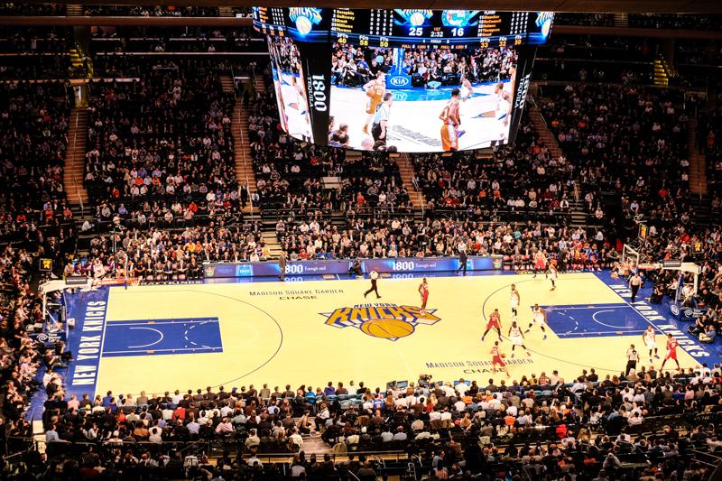 Les billets pour les matchs NBA des New York Knicks et des ...