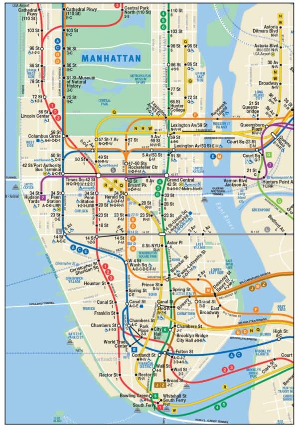Le Bus Et Le Mtro Volont Le Bon Plan Transport New York