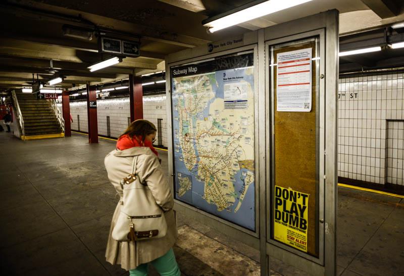 obtenir carte metro particulier Le Bus et le Métro à volonté : le bon plan transport à New York