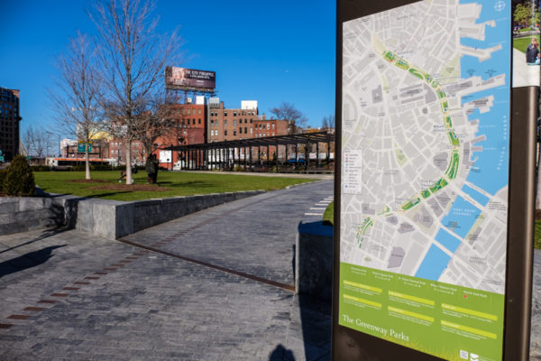 The Greenway Parks Boston