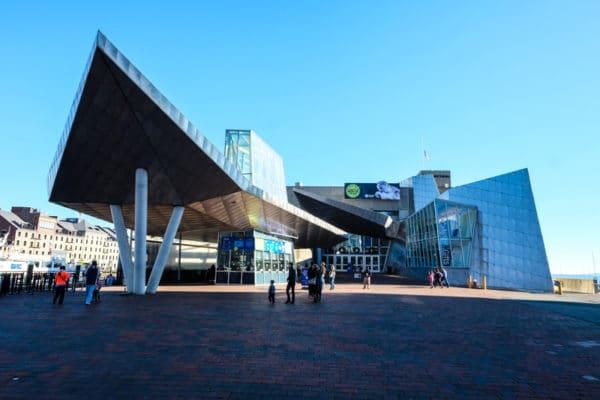 visiter Boston aquarium New England
